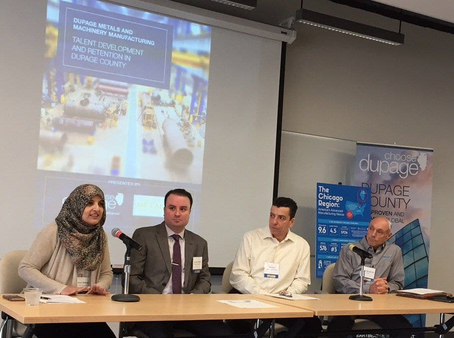 Choose DuPage Panel Discusses Workforce Issues Facing Manufacturers
