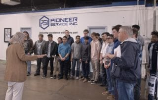 Pioneer Service Inc. Hosts High School and Middle School Students