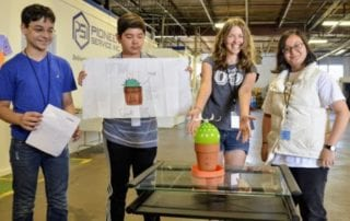 Innovation Alive 7th Grade Students Show Off Ideas at Pioneer Service