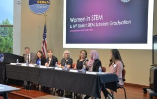 Pioneer Service Women Join Women in STEM Panel to Inspire