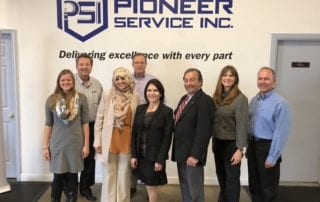 Lt. Governor Evelyn Sanguinetti Visits Pioneer Service for #MFGDay17